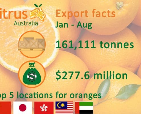 Citrus export facts